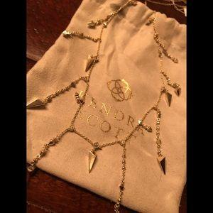 Kendra Scott Lorelei Long Necklace - Gold